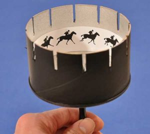 Animation Zoetrope at Abington Friends