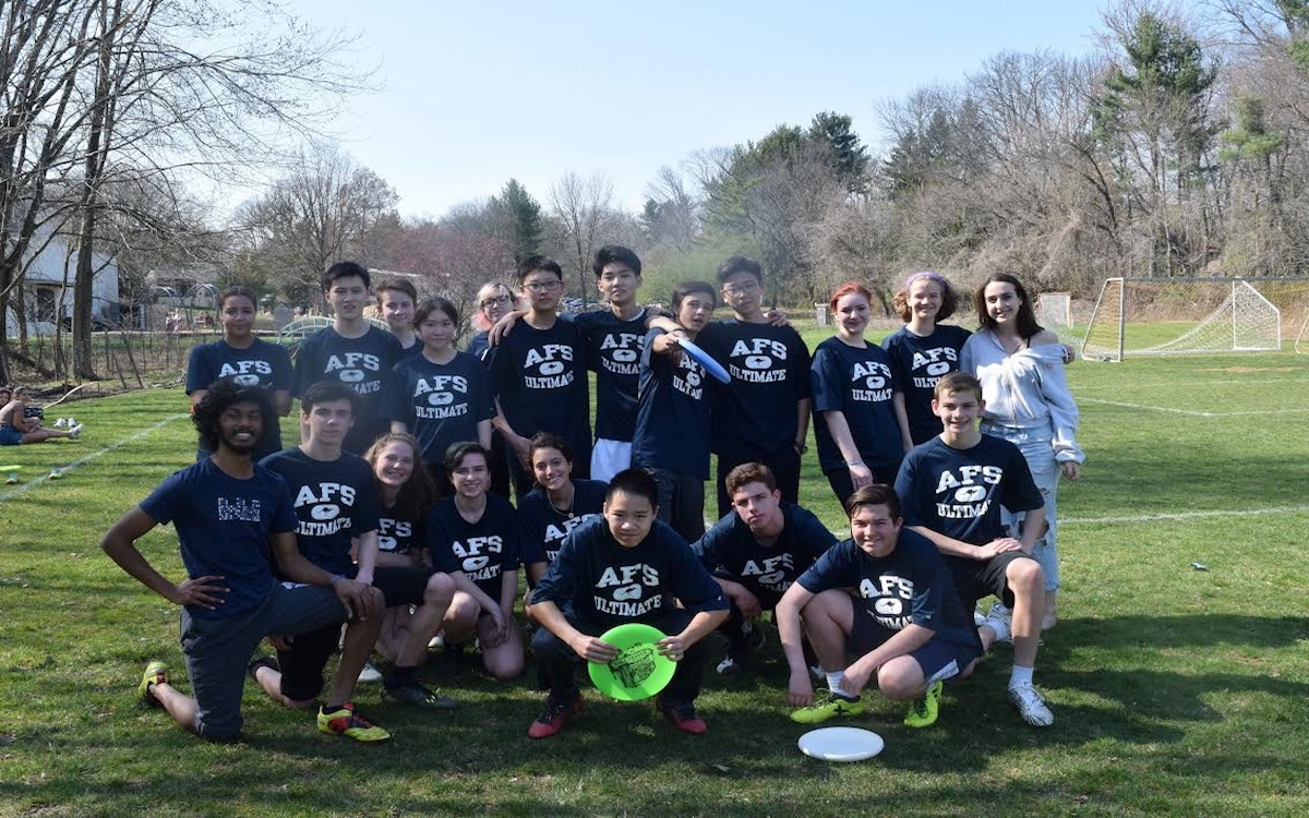 Upper School Ultimate Frisbee