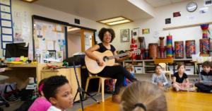 Lower School Music Class at Abington Friends School